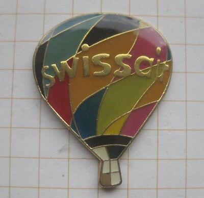 SWISSAIR / SCHWEIZ / BALLON ................... Flugzeuge&Airlines-Pin (172g)