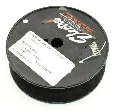 100 Roll - M8104412-20-9 Mil Spec Hi Temp 20 Awg Wire