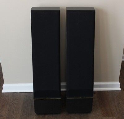 Thiel Coherent Source Loudspeakers Model CS.5 Floor Speakers Black for sale  Shipping to South Africa