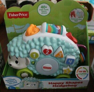 NIB Hedgehog Toy Fisher-Price Linkimals Happy Shapes Interactive Fun Play Music