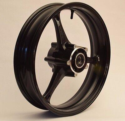 NEW GLOSS BLACK Front Wheel Suzuki GSXR 600 750 2006-2007 GSXR 1000 2005-2008