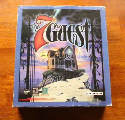 The 7th Guest - Big Box - Vintage 1990s Horror Adventure PC Game CD-ROM