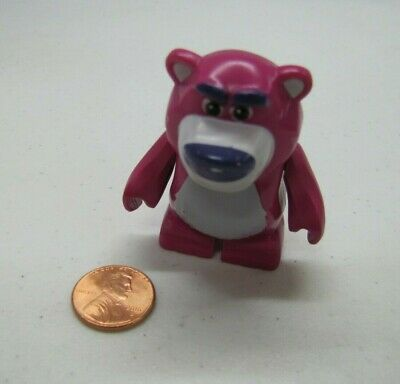 "Lego Duplo LOTSO PURPLE BEAR PIXAR TOY STORY Minifig Figure 2.5"" Mini Fig 2009"