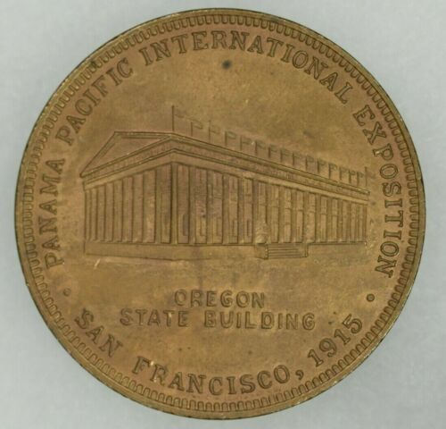 1915 Panama Pacific Exposition Oregon State Building So Called Dollar HK 411 UNC