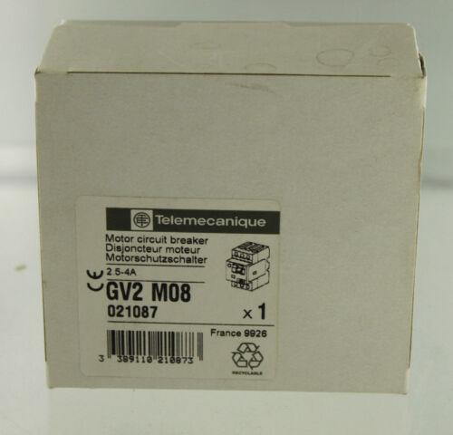 SCHNEIDER ELECTRIC TELEMECANIQUE GV2-M08 MOTOR STARTER PROTECTOR NEW