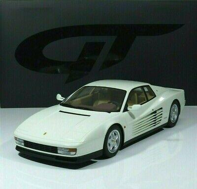 Ferrari Testarossa Baujahr 1984 white 1:12 GT258 GT Spirit