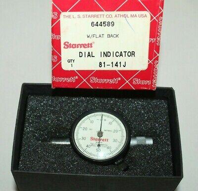 H Starrett 81-141j Dial Indicator 001-.250 Range Jeweled