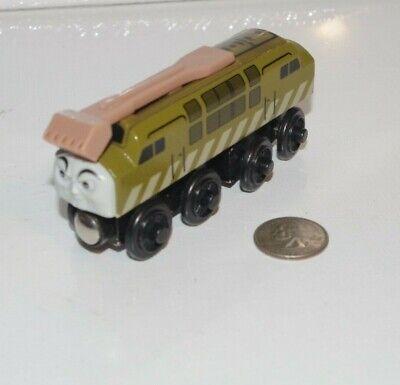 Thomas & Friends Wooden Railway Train Tank - Diesel 10 - 2003 GUC - Sliding Claw
