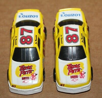 2 Racing Champions 1991 Diecast 1:64 Cars #87 Texas Pete Joe Nemechek