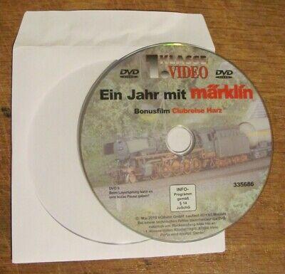 DVD Ein Jahr mit Märklin 2019 Bonusfilm Clubreise in den Harz, gebraucht gebraucht kaufen  Fellbach