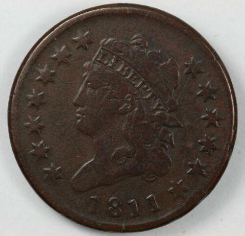 1811 Classic Head Large Cent 1C