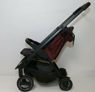 iCOO 150078 Acrobat Kinderwagen, Shop'n Drive, rot, Gebraucht,ohne Sonnenverdeck