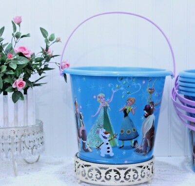 Halloween FROZEN JUMBO Plastic Bucket by DISNEY Party Favor/Centerpiece NEW K-05](Halloween Bucket Ideas)