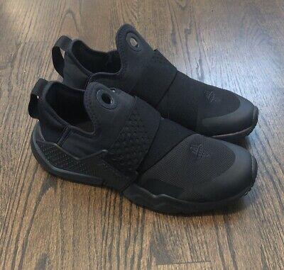 Nike Air Huarache Extreme GS Black Big Kids Running Shoes AQ0575-004 Sz 6Y NEW