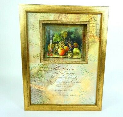 Blessed Shadow Box Frame - Bless this Home bible scripture styles Picture Frame Shadow Box decor 14