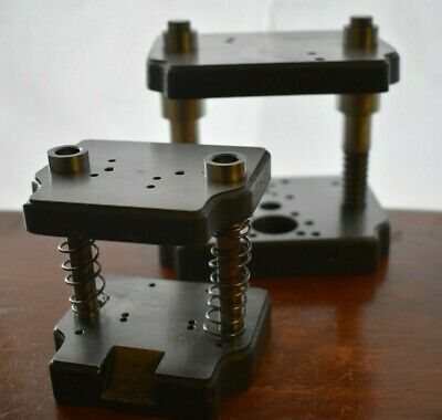 Janesville Tool Mini-die Set Lot Of 2 Small And Large