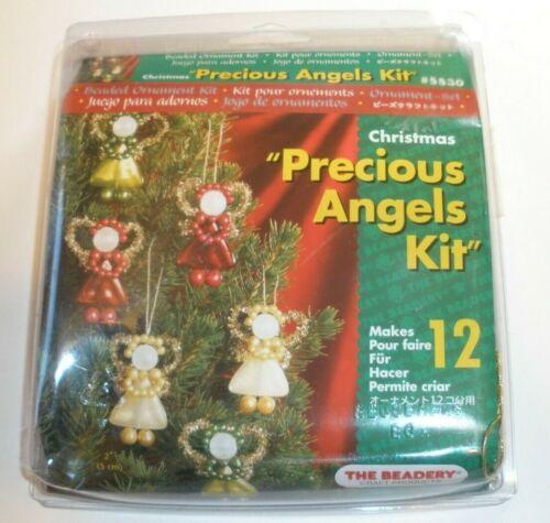 The Beadery Christmas Bead Ornament Kit 12 PRECIOUS ANGELS