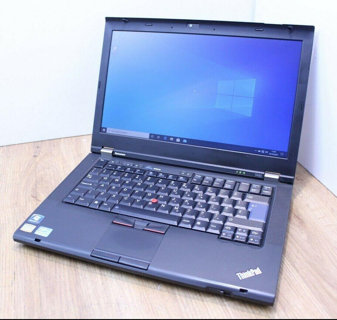 Laptop Windows - Lenovo Think T420 Windows 10 Laptop Intel Core i5 2nd Gen 2.5GHz 4GB 500GB HDD