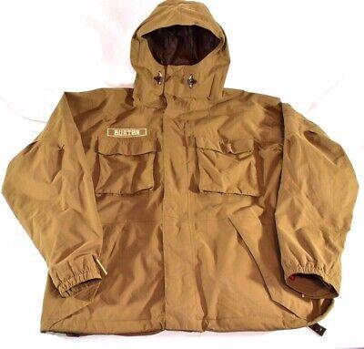 Burton Size LARGE (L) Mens Brown Snowboarding Ski Winter Jacket + FAST SHIPPING!