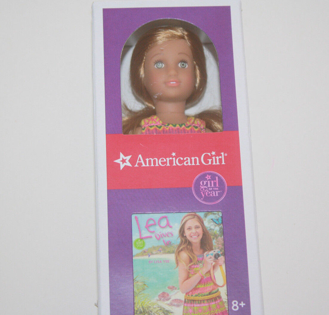 Lea Mini Doll & Book  New in Box