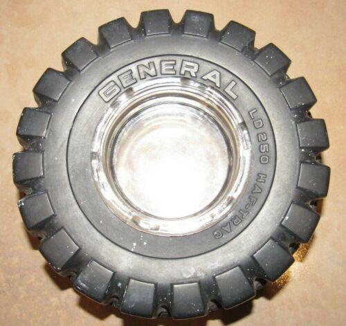 Vintage General Tire Company LD250 Haf-Trac Tire Ashtray