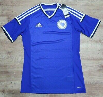 Bosnia Soccer Jersey Football Shirt 100% Authentic M 2014 World Cup adizero image