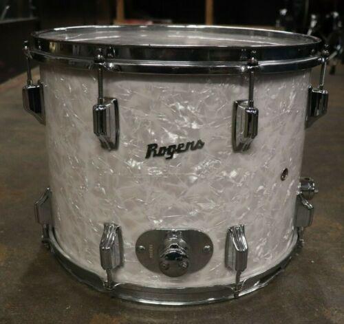 Rogers 11.5x15 Powertone Floor Tom Drum White Marine Pearl Vintage 1960