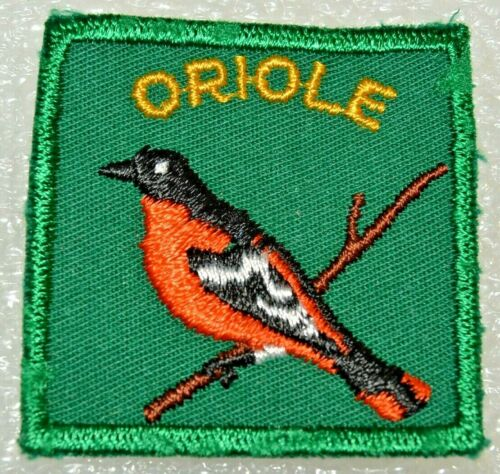ORIOLE DISTRICT No Black Stitching Around Leg Boy Scout Badge Canadian (ONO2B)