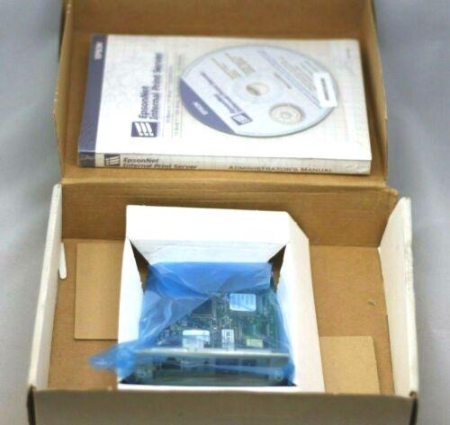 Epson C823632 Multiprotocol 10/100 Base-TX Type-B Ethernet Print Server BNIB