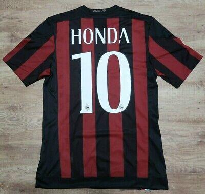AC Milan Jersey Shirt #10 Keisuke Honda 100% Original 2015/2016 Home S USED