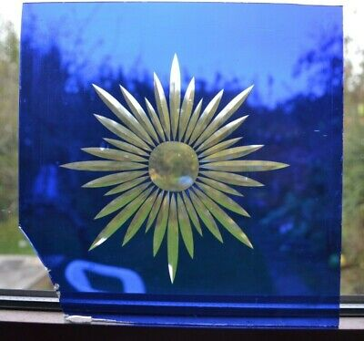 Cut glory glass for leaded light stained glass window/door. S997b
