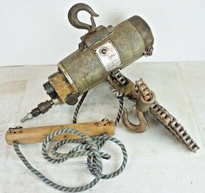 Keller Toolsgardner Denver 12 Ton Air Pneumatic Chain Hoist