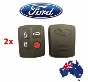 2x Brand New 4 button after market remote control for Ford BA/BF