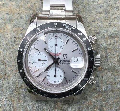 TUDOR Chrono Time Prince Date TIGER 79260 Automatic Men's Watch - watch picture 1