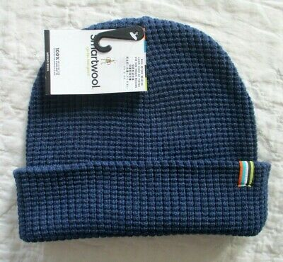 SMARTWOOL Men's TIMBERVALE BEANIE Hat Alpine Blue Heather  One Size NWT Alpine Knit Hat