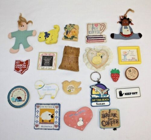 Vintage Collectible Magnet Assortment Collection Lot 20