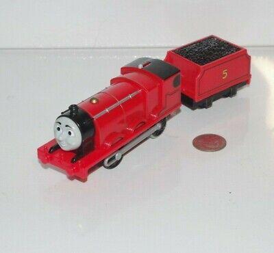 Motorized Trackmaster Thomas & Friends Train Tank Engine - James - Works - 2013