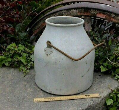 Vintage Milk Churn Garden Planter Aluminium