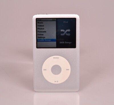 Silver Apple iPod Classic 120 Gb Near Mint w/Accessories (41)  Free Shipping