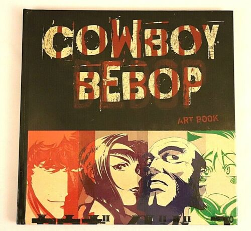 Cowboy Bebop The Bounty Hunters Steel Art Book only 2018 Collectors Edition