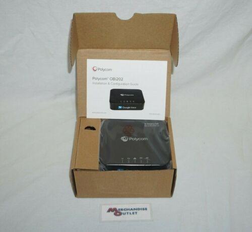 Polycom OBI202 2 Port VoIP Phone Adapter - 220049522001