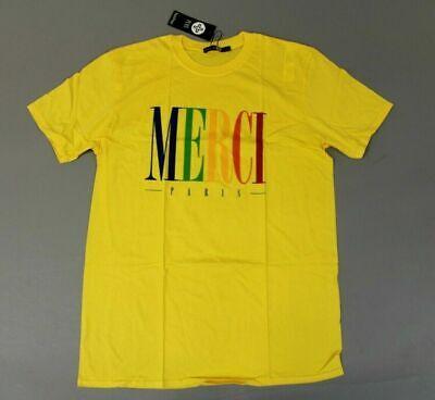 boohoo Women's Short Sleeve Graphic Plus Julia Merci Tee SI4 Yellow Size US:14