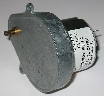73 Rpm Gearhead Motor - 12v - Very High Torque Output