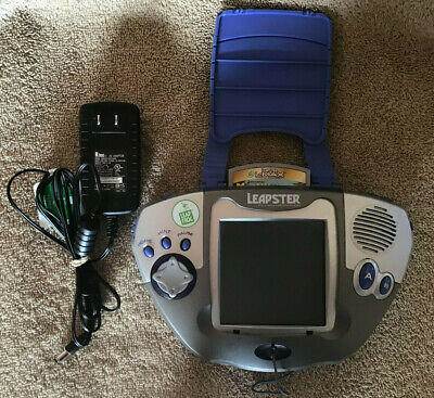 Leapfrog Leapster, Charger and Madagascar Game - Tested & Working