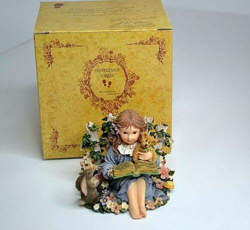 Boyds Bear Yesterdays Child Dollstone Alyssa Secret Garden Figurine 3582