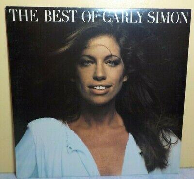 CARLY SIMON THE BEST OF 1975 VINYL ELEKTRA RECORD 6E (Best Cars Of 1975)