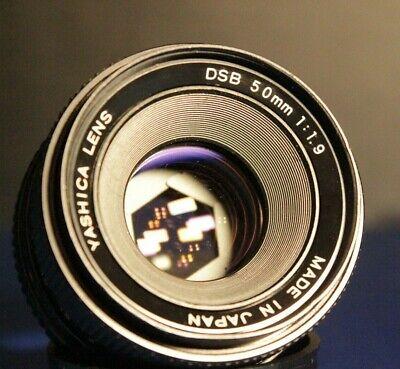 Yashica DSB 50mm F1.9 1:1.9 CY C/Y Mount Camera Lens