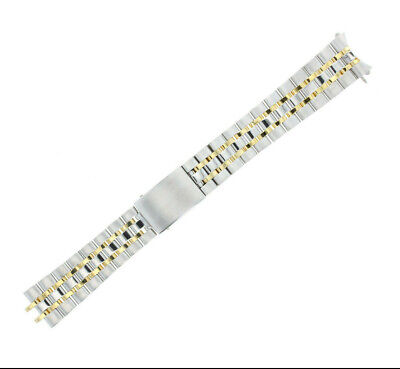 Replacement Band for any Mens Rolex 18k Stainless Steel WatchBand 19mm