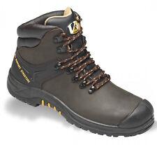 Mens V12 Vtech V6 Cougar Leather Safety Hiker Work Steel Midsole Toe Cap Boots