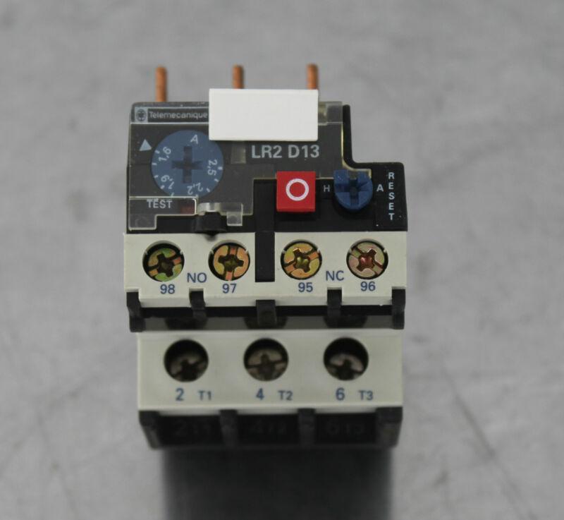 SCHNEIDER ELECTRIC TELEMECANIQUE LR2-D1307 BIMETALLIC OVERLOAD RELAY